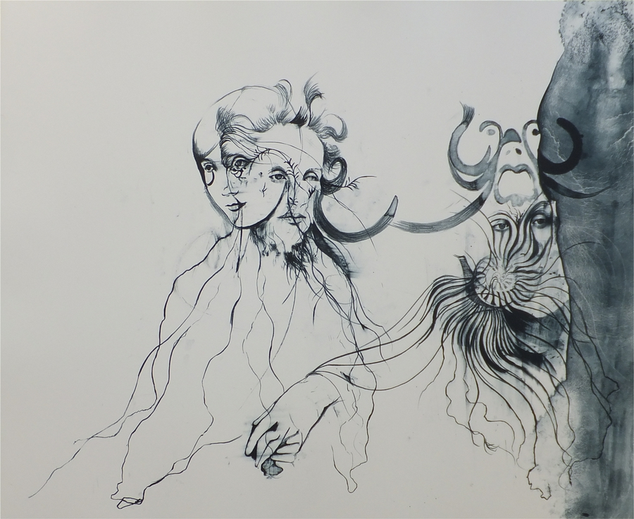 cathrine raben davidsen lilla litografi